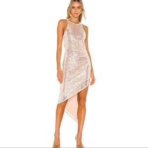 Lovers + Friends Rosalee Sequin Gown Dress NWT XL